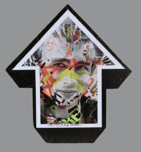 Tavar Zawacki-Flèche James Dean (recto verso)-2012