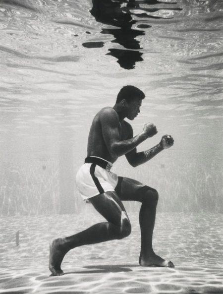 Flip Schulke-Ali Underwater-1961