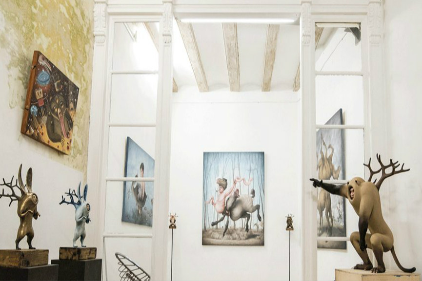 Fousion-Art-Gallery