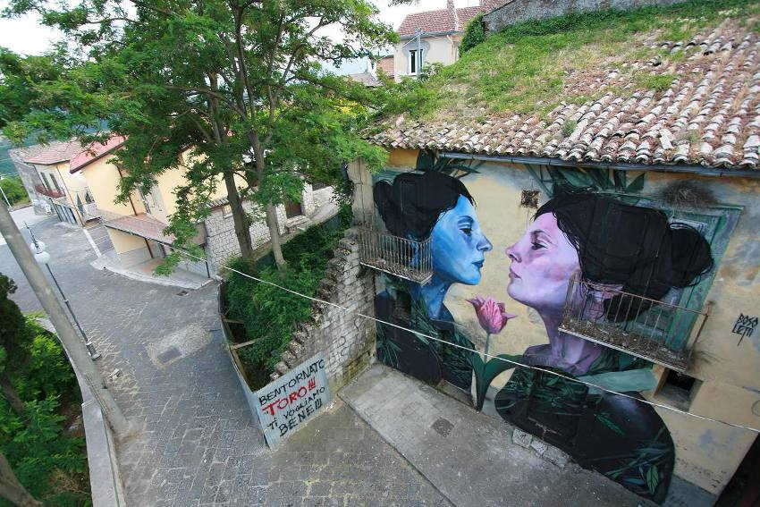 Fran Bosoletti - Alma en Venta (Soul for Sale), Bonito, Avellino, Italy, 2015 - BOCA Bonito Contest Art
