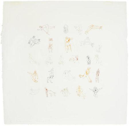 Francesco Clemente-Knots-1981