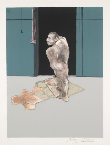 Francis Bacon-Study For Portrait Of John Edwards-1987