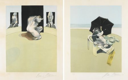 Triptych: Right Panel And Centre Panel-1981