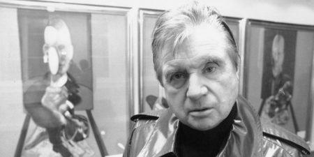 Francis Bacon portrait, 1976