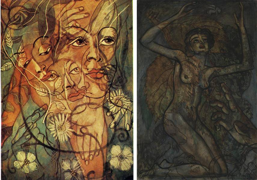 Hera and Otaïti are the titles of wto Picabia works that were fairly overlooked during the artist's career