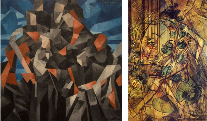 These images show just how much an advanced conceptual basis Francis Picabia had in the early 20th century