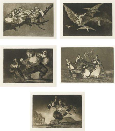 Francisco de Goya-Los Proverbios-1824