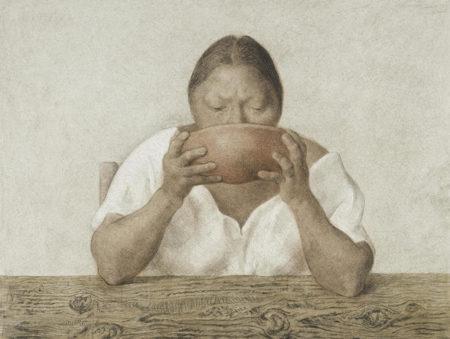 Francisco Zuniga-Mujer con Olla-1983