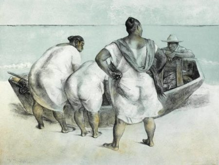 Francisco Zuniga-Mujeres al Mar-1977