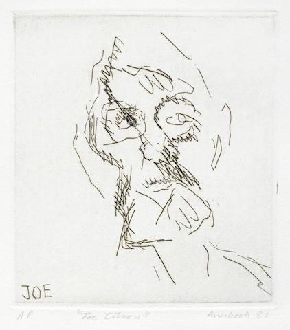 Frank Auerbach-Joe Tilson-1980