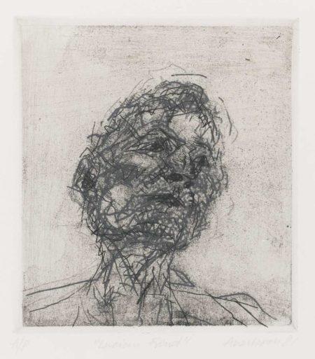 Frank Auerbach-Lucian Freud-1981