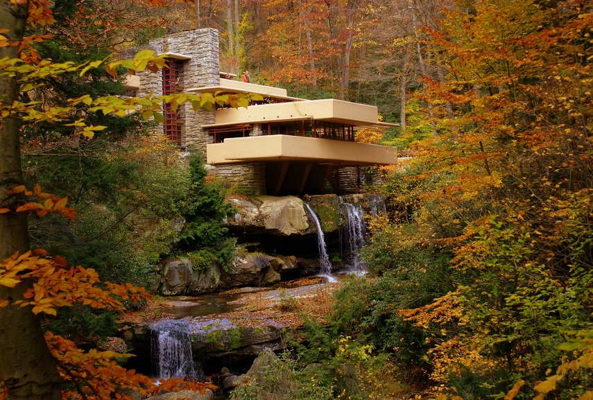 Frank Lloyd Wright like modern life project philosophy