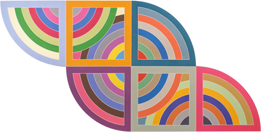 whitney museum frank stella american work works painting paintings collection work