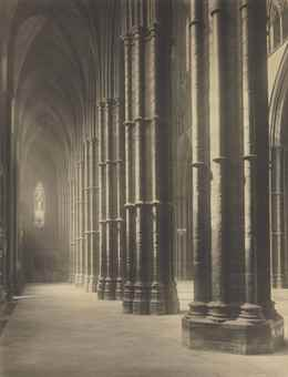 Frederick H. Evans-Westminster Abbey, North Ambulatory, Chapel of St. Erasmus-1911