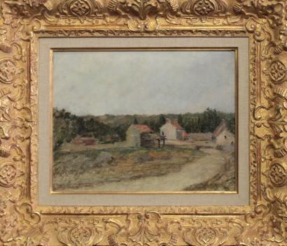 French School of the Twentieth Century - View of the Village-