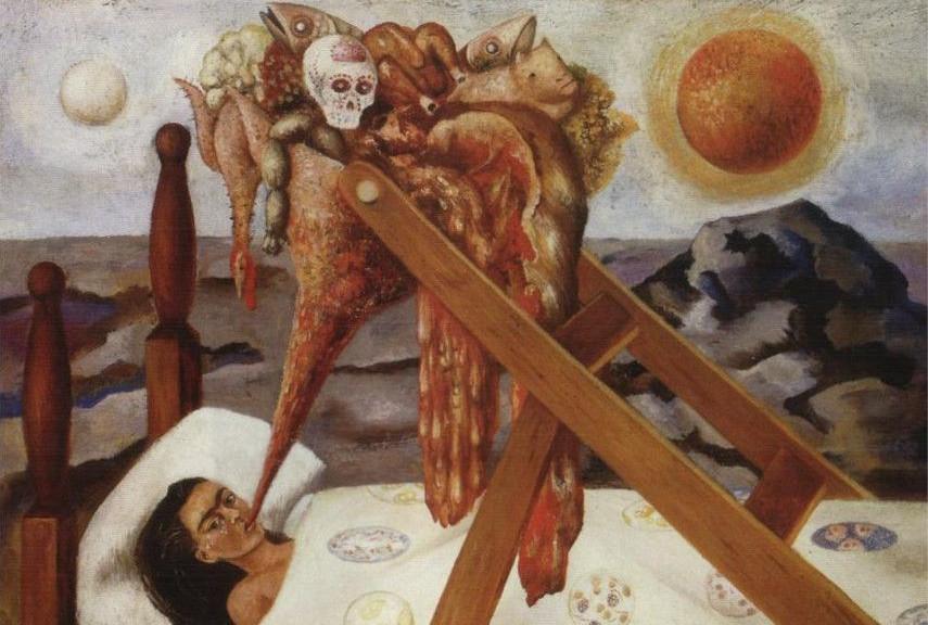 Frida Kahlo - Without Hope, 1945