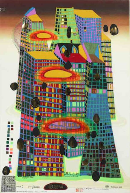 Friedensreich Hundertwasser-Good Morning City-Bleeding Town-1971