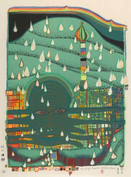 Friedensreich Hundertwasser-Green Power-1972