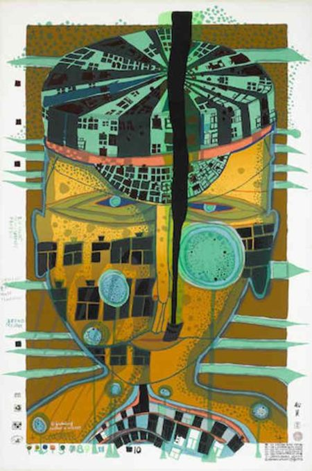 Friedensreich Hundertwasser-One of Five Seamen-1975
