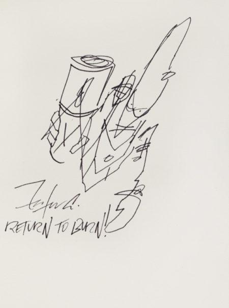 Futura-Untitled (Pointman)-1991