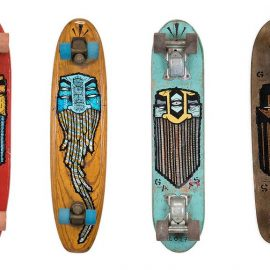 Death By Pebble Vintage Skateboards