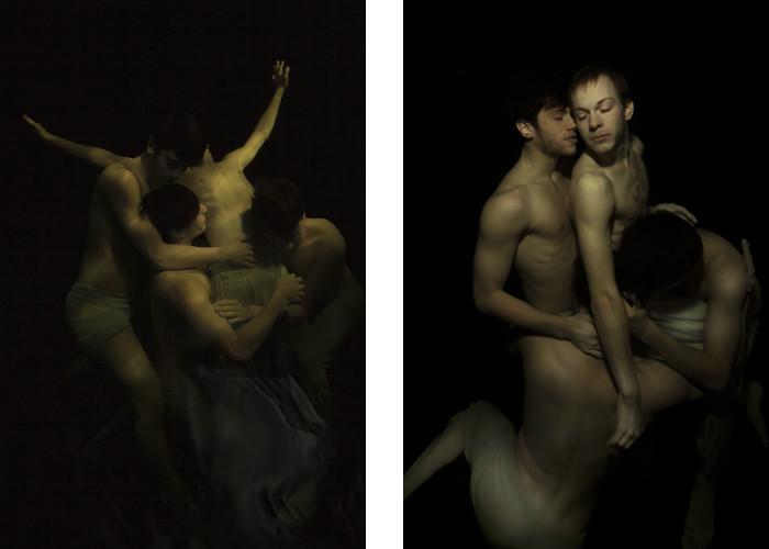 Gabriele Viertel - Resurrection - In a Spirit - 2015 (Left) / Resurrection - The Beloved One (Right) - 2015