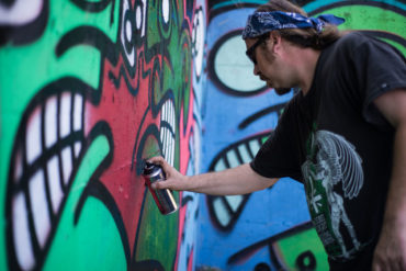 galo art gallery interview week june july graffiti 2015 blog video event