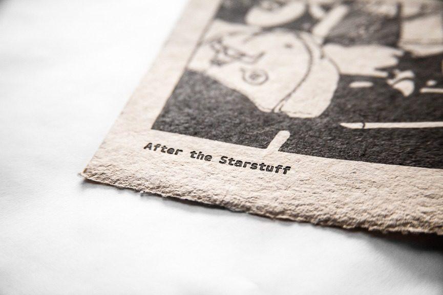 Ganzeer -After the Starstuff, detail, 2015
