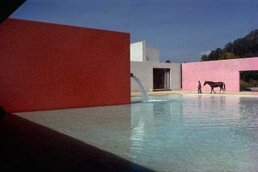 René Burri - Gebäude von Luis Barragan, San Cristobal, Mexico City, 1976