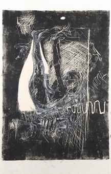Georg Baselitz-Die Ahrenleserin II (The Gleaner)-1979