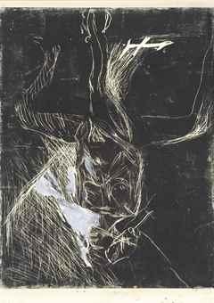 Georg Baselitz-Dreibeiniger Akt-1977