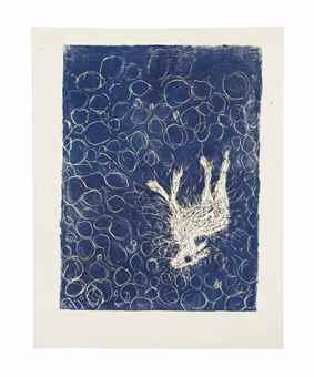 Georg Baselitz-Reh 3.II.85 (Deer 3.II.85)-1985