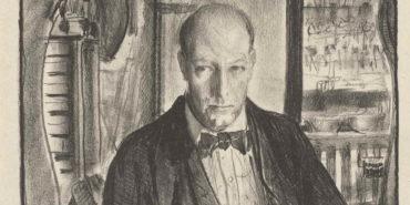 George Bellows - Self-portrait, 1921 (detail)