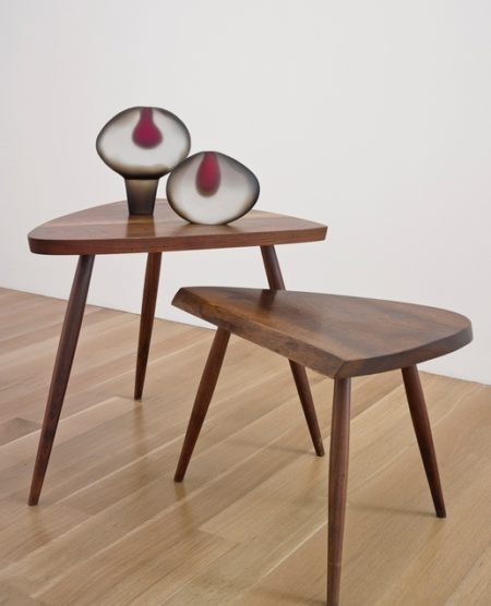 George Nakashima - Two Wepman Tables-1955