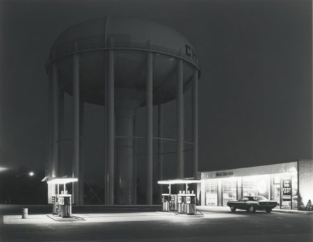 George Tice-PetitS Mobil Station Cherry Hill N. J.-1974