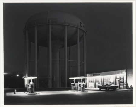 George Tice-PetitS Mobil Station, Cherry Hill, N. J.-1979