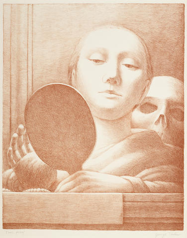 George Tooker-The Mirror-1978
