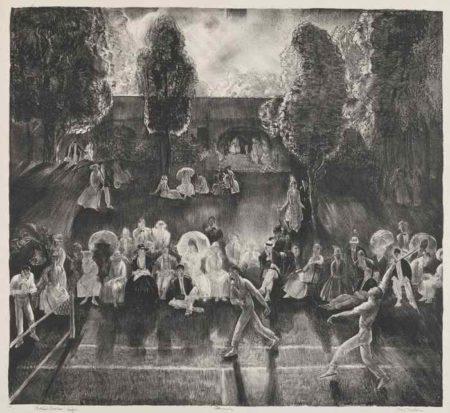 George Bellows-Tennis-1920