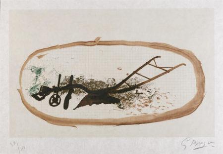 Georges Braque-La charrue-1960