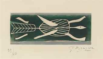 Georges Braque-Thalassa I-1959