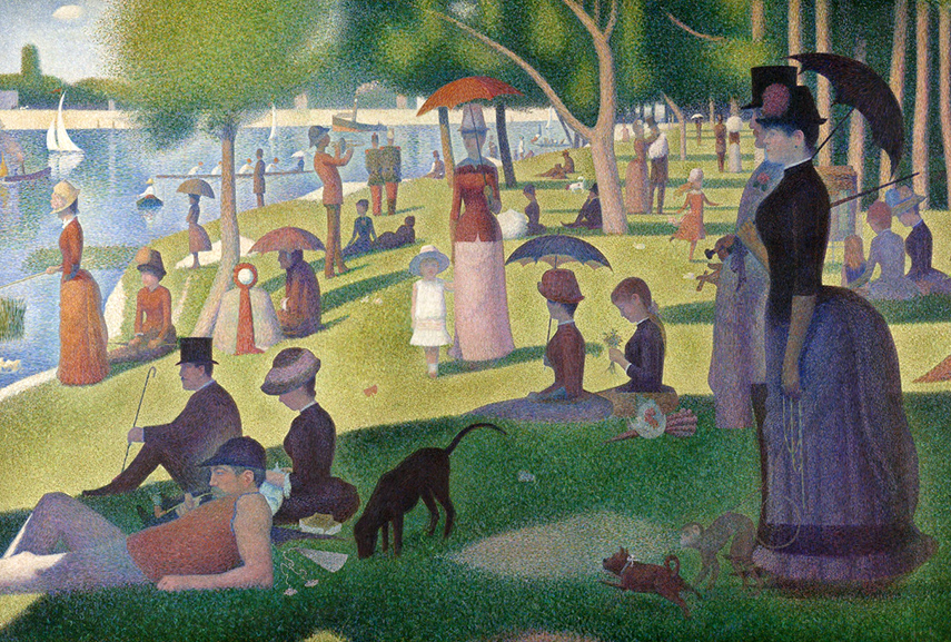 Georges Seurat – A Sunday on La Grande Jatte
