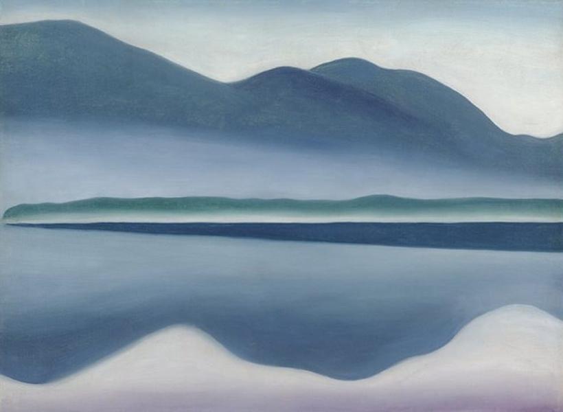 Georgia O'Keeffe - Lake George, 1922
