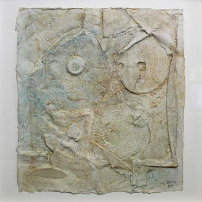 Gerard Renvez-Abstract Composition-2009