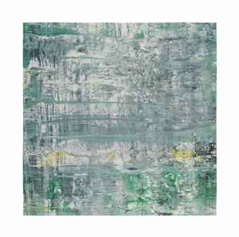 Gerhard Richter-Cage Grid Trial Proof 1-2009