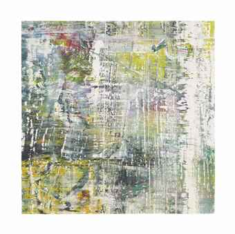 Gerhard Richter-Cage Grid Trial Proof 2-2009