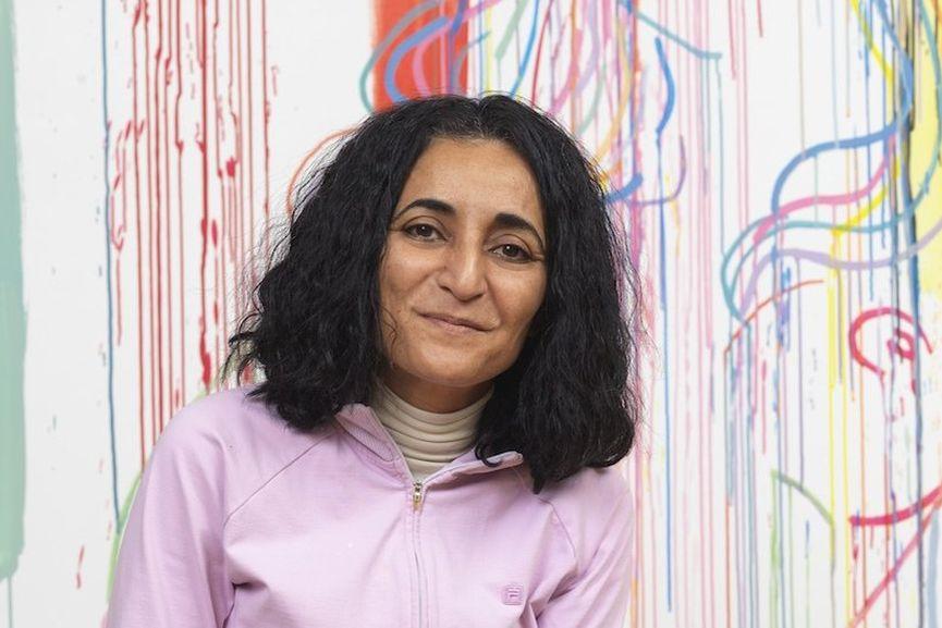Ghada Amer, via artspace com