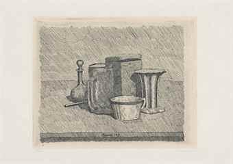 Giorgio Morandi-Natura morta con tazzina e caraffa-1929