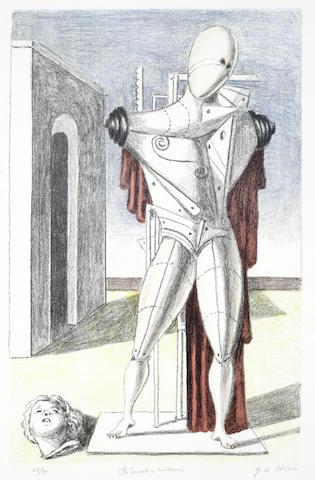 Giorgio de Chirico-Il Trovatore Solitario-1970