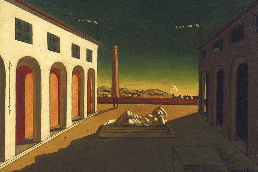 pittura metafisica metaphysical painting