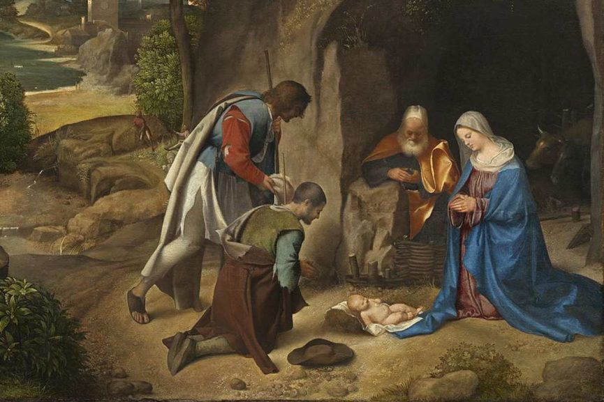 -Giorgione_-_Adoration_of_the_Shepherds, detail
